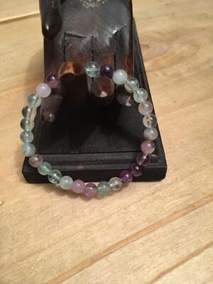 Bracelet Fluorite 6mm