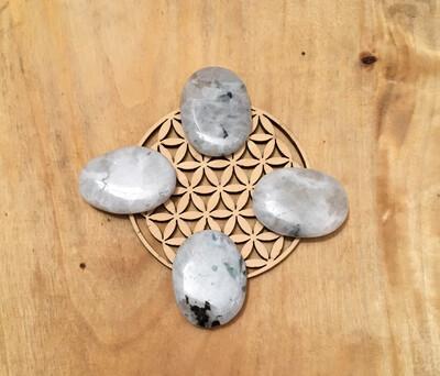 Labradorite blanche plate