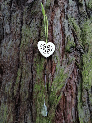 Suspension coeur de vie Forêt