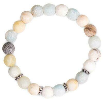 Bracelet en Amazonite