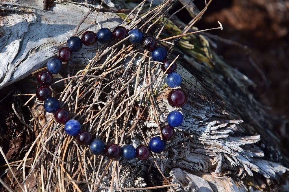 Bracelet 6ème chakra : ancrer les perceptions