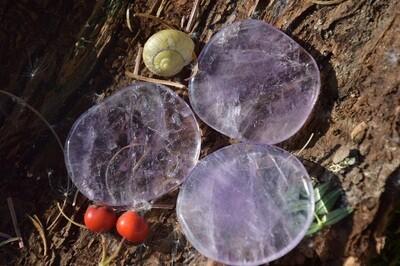 Améthyste plate