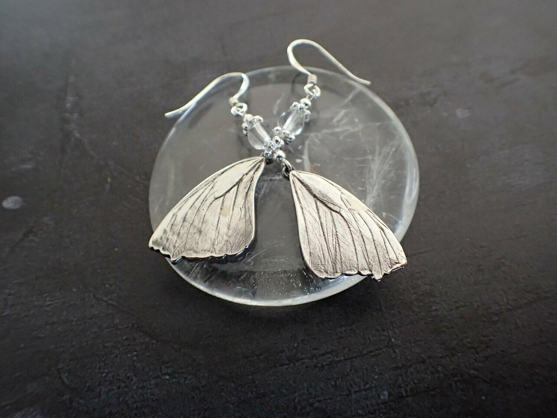 """Boucles d'oreilles """"Effet papillon"""""""