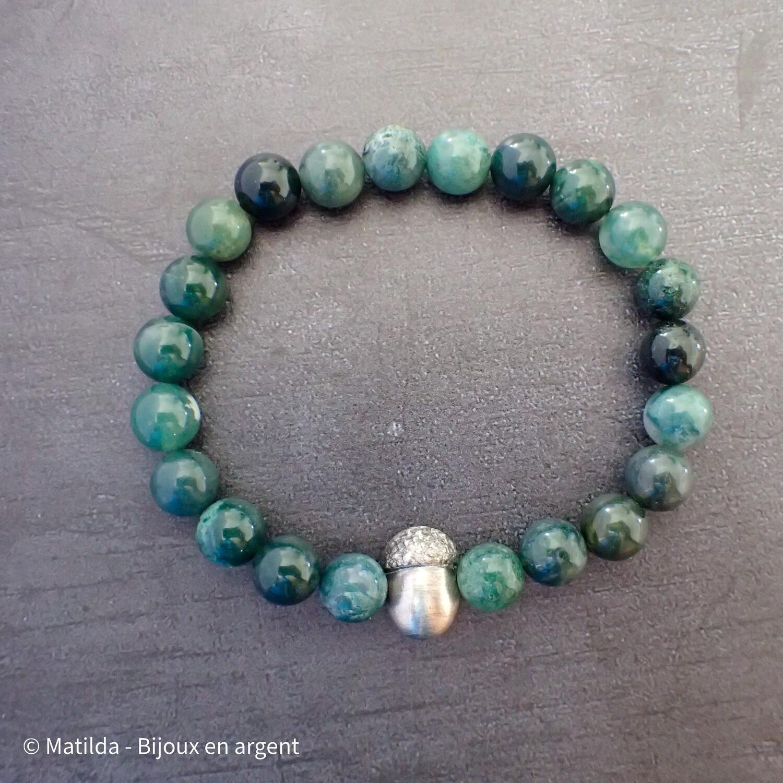 """Bracelet unisexe """"Nature et Force"""""""