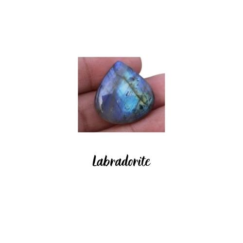 Cabochon goutte Labradorite