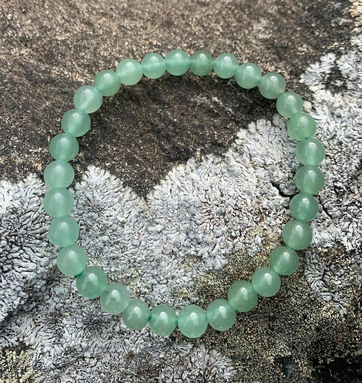 Bracelet en Aventurine Verte 6 mm