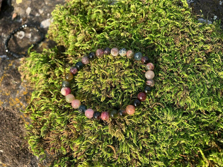Bracelet Tourmaline Multicolore 8 mm