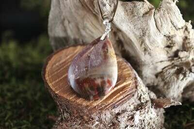 Pendentif en Bois fossilisé