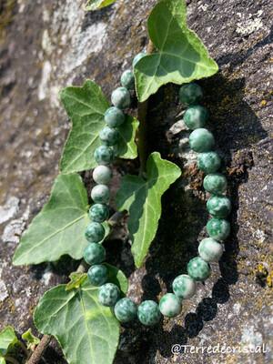 Bracelet en Agate arbre 6 mm