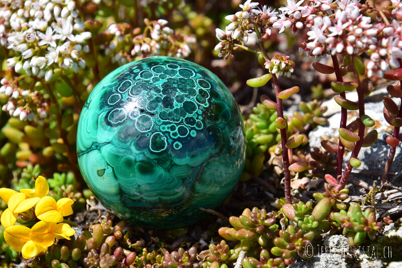 Boule de Malachite