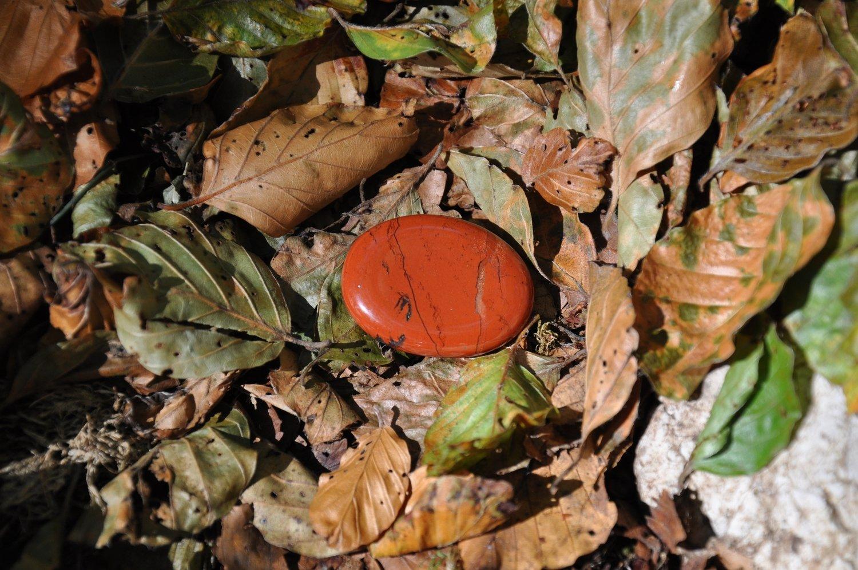 Jaspe rouge plat