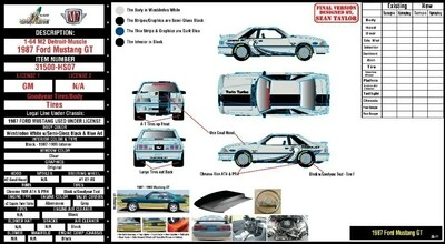 1987 Ford Mustang GT – Twin Turbo M2 Pre Order