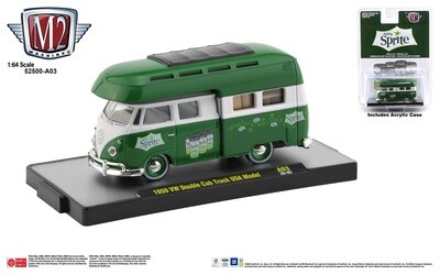 Coca-Cola 1:64 scale Release 52500-A03 VW Cab Over Van Sprite