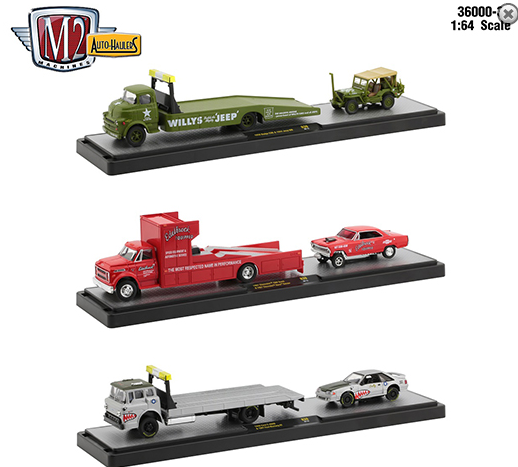 M2 Machines 1:64 Auto Haulers Release 39 Assortment 3 Styles 2020