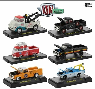 M2 Auto Trucks 61 - Sealed Inner Case of 6 chance at chase