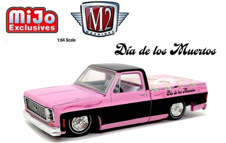 M2 Dia De Los Muertos 73 Chevy Squarebody