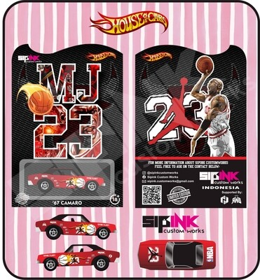MJ SiPinks Tribute 67 Camaro November Release
