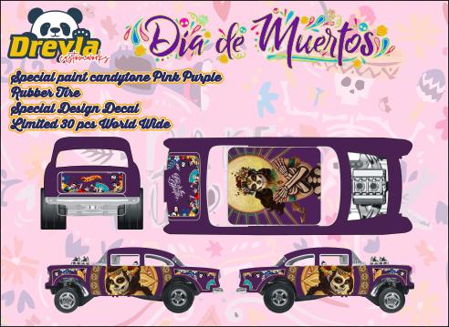 Dia Delos Muertos 55 Gasser October Release Dreyla Customs