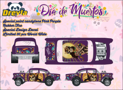 Dia Delos Muertos 55 Gasser October Release Dreyla Customs