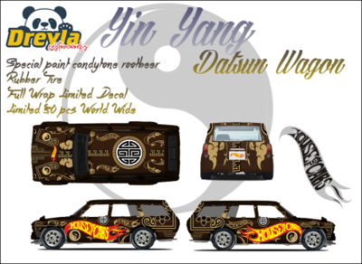 Wicked Datsun 510 Wagon November Release Dreyla Customs