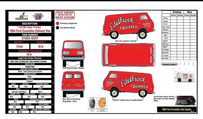 M2 Edelbrock Gasser Van