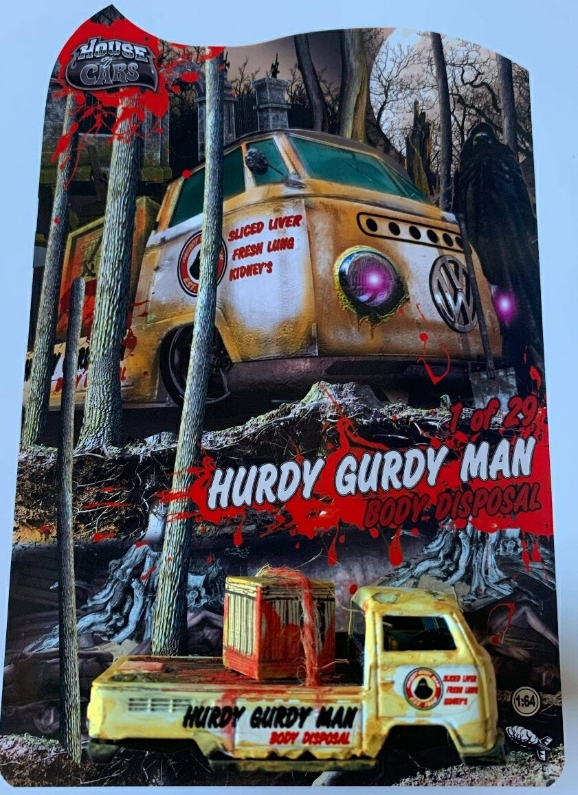Hurdy Gurdy October Release VW Transport by Nuclear Mindz