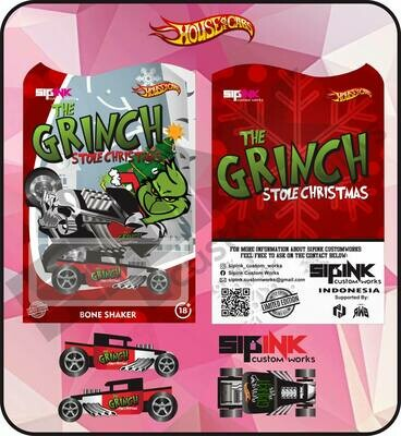 SIPink Grinch Christmas Edition Boneshaker