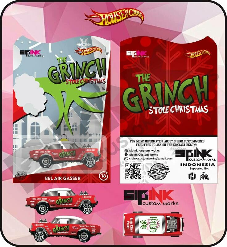 SIPink Grinch Christmas Edition 55 Gasser