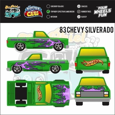 November Green Spectraflame 83 Silverado by Yohan