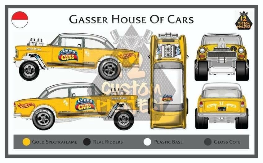 Liquid Gold 55 Gasser December Release