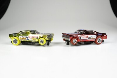 Autoworld Snake and Mongoose 2021 Vegas Chrome Exclusive Set