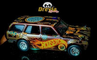 Wicked Datsun 510 Wagon November Release Dreyla Customs