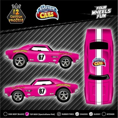Spectraflame Pink 67 Camaro House of Cars Exclusive