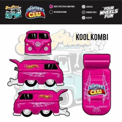 Spectraflame Pink House of Cars VW Kombi December Release