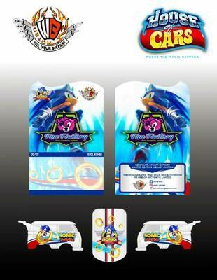 Sonic The Hedgehog VW Kombi January 2021