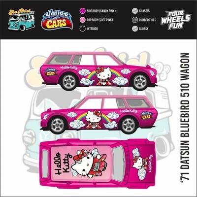 Monthly Series January Hello Kitty Datsun Wagon 1 of 20