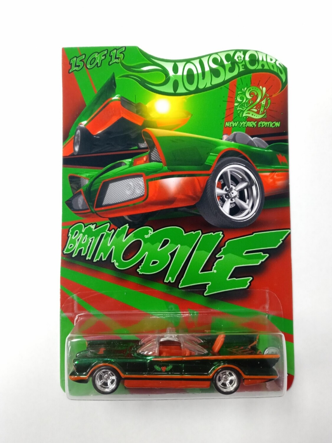 Happy New Year Batmobile 1 of 15 Spectraflame Green