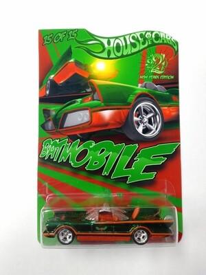 Happy New Year Batmobile 1 of 15 Spectraflame Green