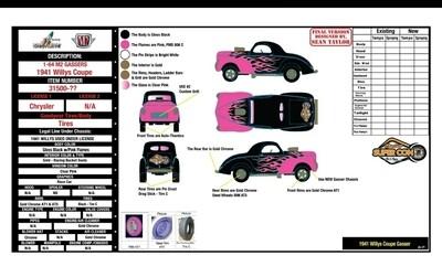 M2 Machines Willys Gasser 2021 Las Vegas Super Convention