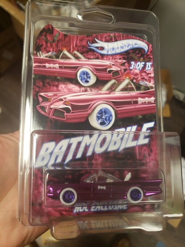 Happy New Year Batmobile 1 of 15 Spectraflame Pink
