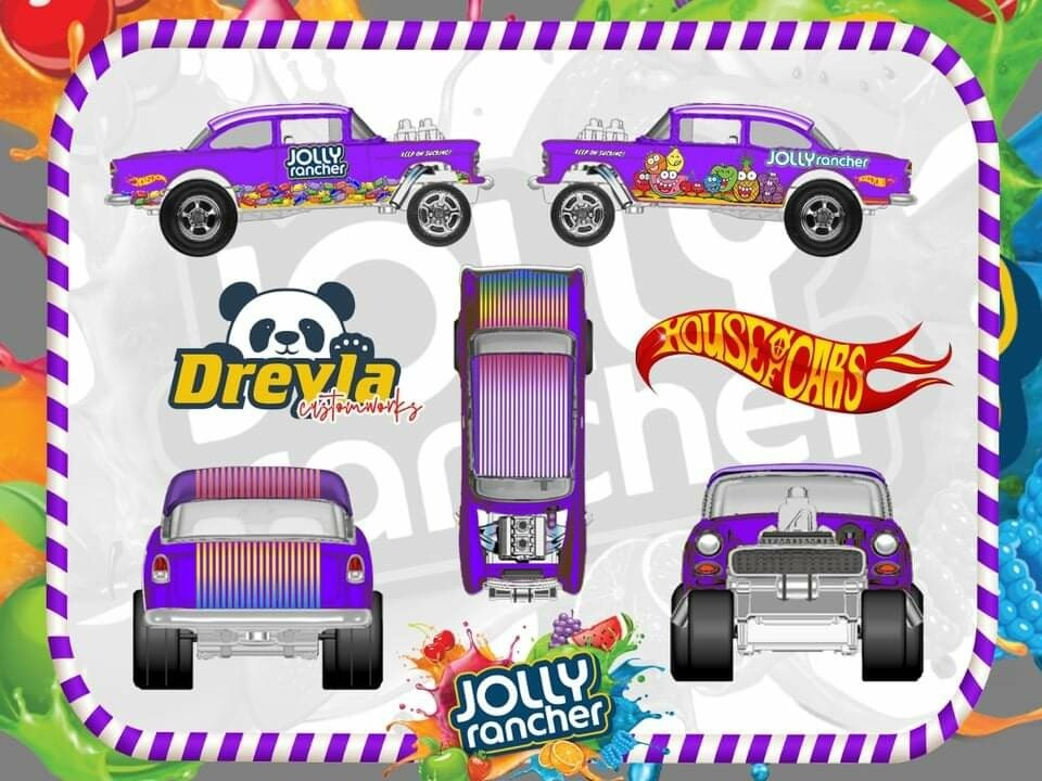 Jolly Rancher 55 Gasser February Monthly Series