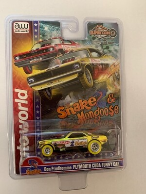 Las Vegas Super Convention Official Snake Slot Car Chrome Yellow 1 of 1000