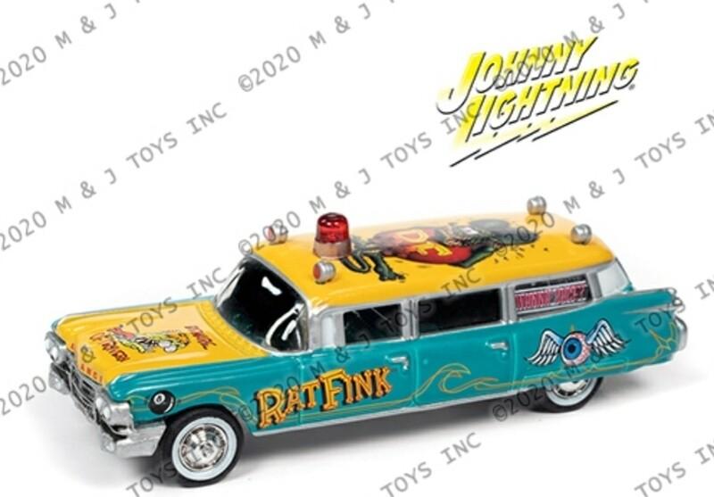 Johnny Lightning Rat Fink Hurst Pre Order #2