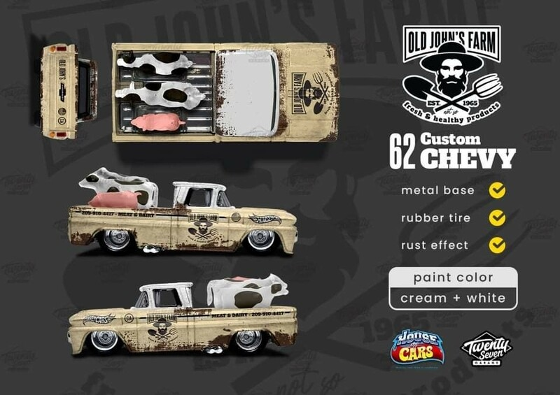 April Monthly Exclusive 62 Chevy Truck