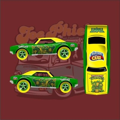 April Monthly Release TMNT '67 Camaro 1 of 20
