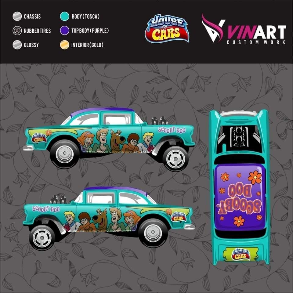 May Monthly Car 55 Gasser Vinart Custom Work