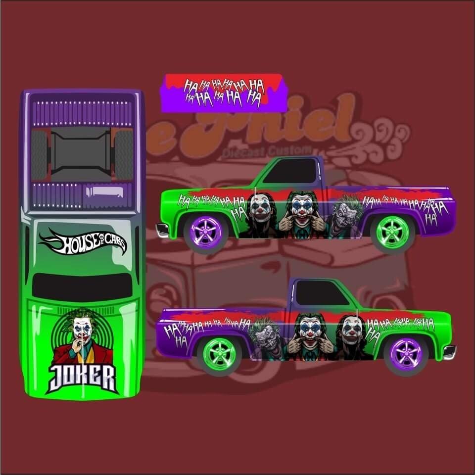 April House of Cars Exclusive '83 Silverado Joker