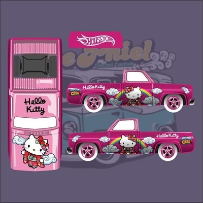 April House of Cars Exclusive '83 Silverado Kitty