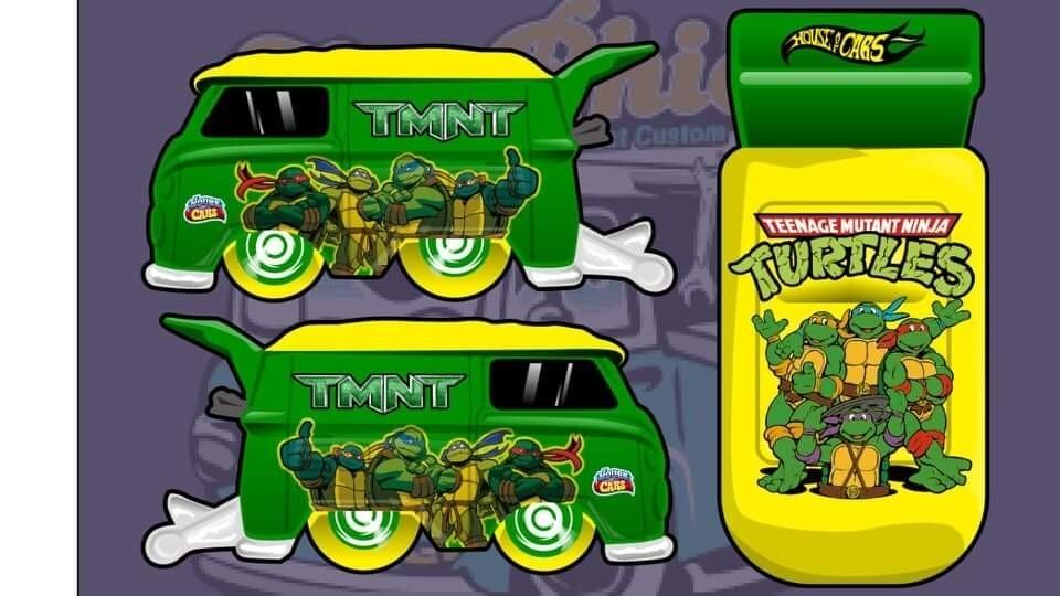 TMNT April Exclusive Release Kombi