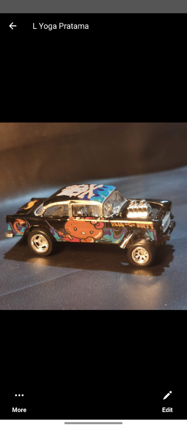 April House of Cars Exclusive '55 Gasser Bad Kitty